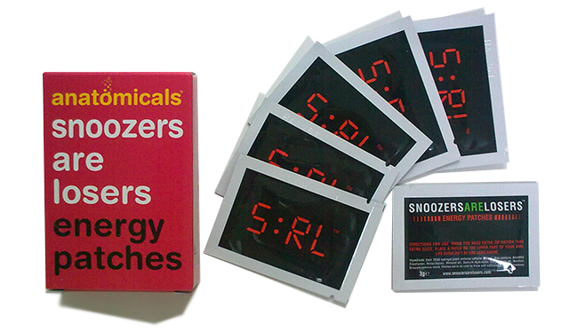 Anatomicals - Snoozers Are Losers Energy Patches.png